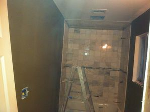 During and After Tile Installation in Warren, NJ (2)